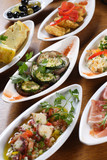 Plates of Spanish tapas