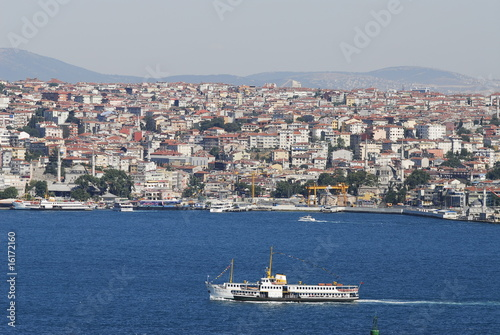bosporus - boat - sea