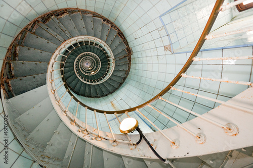 Plexiglas Vuurtoren / Mill high lighthouse stairs