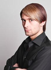 man long hair