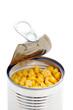 Conserve de maïs ouverte