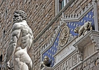 Herkules vor Palazzo Vecchio