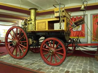"Firefighters steam pump (""Shand Mason&Co"", England, 1899)"