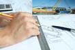 Excavator's drawing
