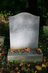 Blank Tombstone