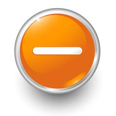 boton naranja restar