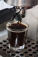 Espresso close up