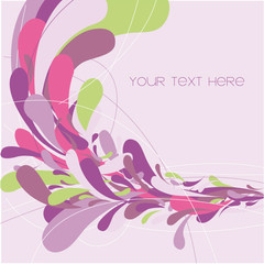 vector colored background design