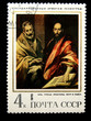 "El Greco ""Apostles Saint Paul and Saint Peter"""