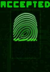 Finger-print background