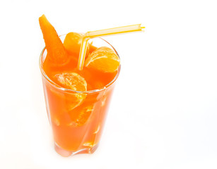 Freshly Squeezed Orange Carrot Juice