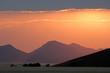 Desert sunrise, Sossusvlei, Namibia, southern Africa