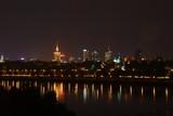 Fototapety Warsaw night