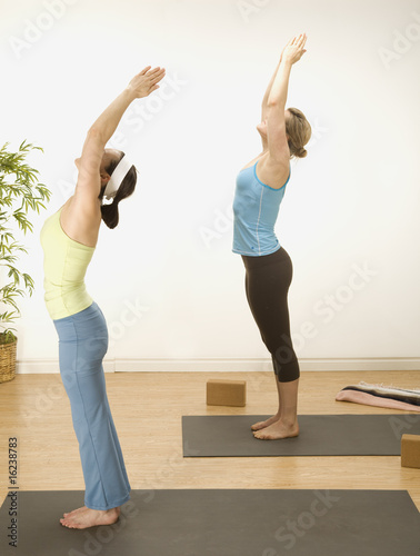 Bending over backward for Yoga