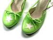 chaussures vertes
