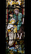 ������, ������: John the Baptist stained glass window