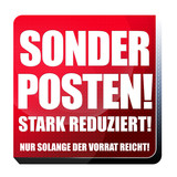 Sonderposten! Button