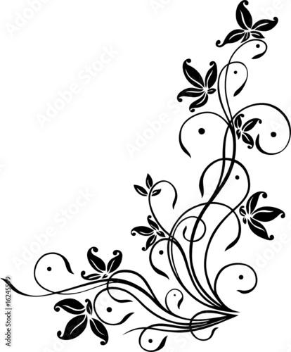 """""""blume ranke filigran floral ornamental"""" stockfotos"""