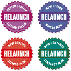 relaunch buttons