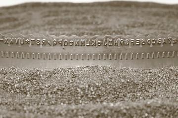 Buchstabenband
