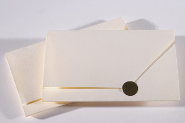 Invitation envelope.