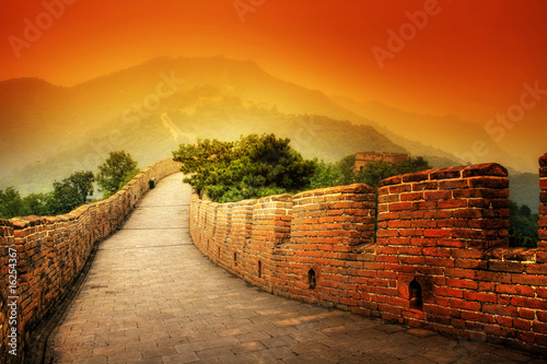 Tuinposter Chinese Muur Great Wall in China