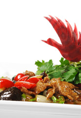 Chinese - Meat with Black Fungus
