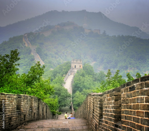 Foto op Plexiglas Chinese Muur Great Wall in China