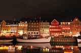 Fototapety Nyhavn Copenhagen Denmark