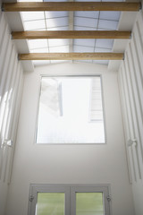 """Interior of modern house, entrance, skylight"""