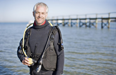 Man in scuba gear