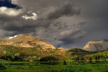 Wyoming-Wind River Storms