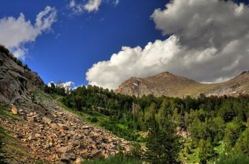 Wind River Range Wyoming-Mitchell Peak