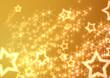ゴールドの流れ星