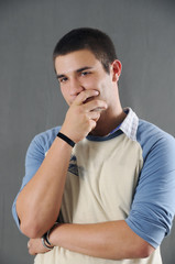 Male teen beauty