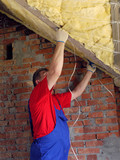 Attic thermal insulation poster