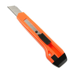 Orange paper knife.