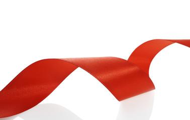 red ribbon decoration christmas