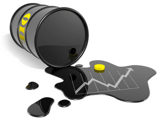 oil barrel up