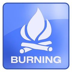 button brennen burning