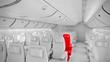 Flugzeug Innen #01