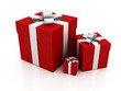 gift boxes red color