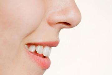 Smilling lips