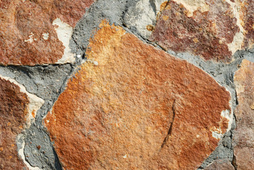 Background from a decorative brown stone