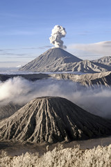 Bromo Semeru Active Volcano