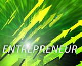 Entrepreneur management success poster