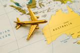 Plane Going to Australia