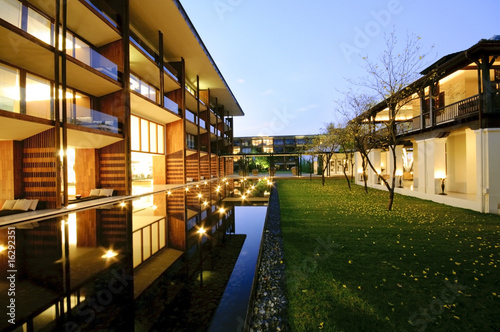contemporary architecture and landscape