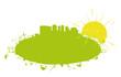 Energie ville verte solaire