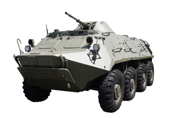 Armoured troop-carrier